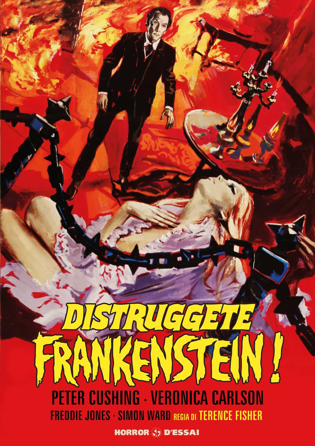 DISTRUGGETE FRANKENSTEIN (RESTAURATO IN HD) (DVD)
