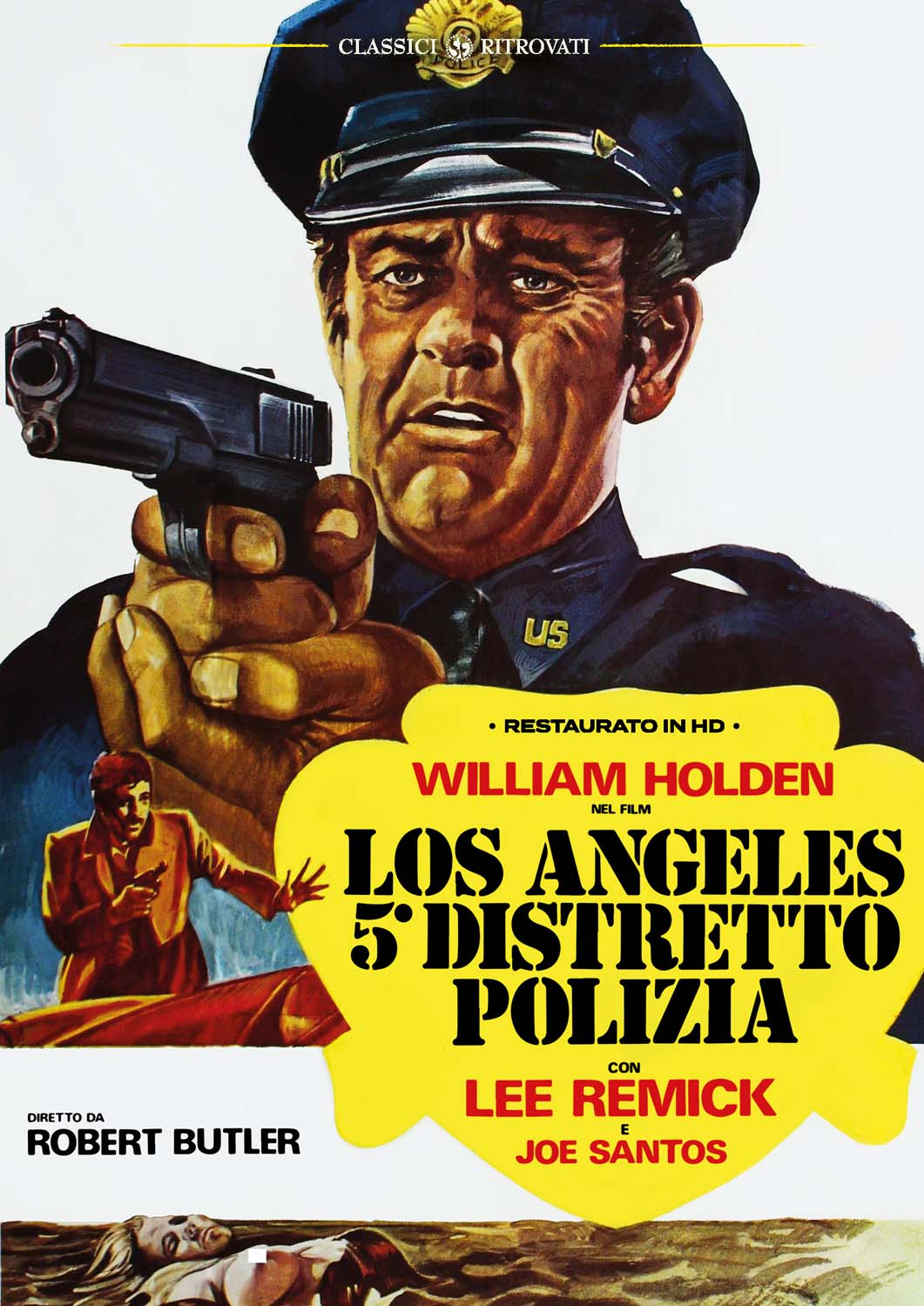 LOS ANGELES QUINTO DISTRETTO DI POLIZIA (RESTAURATO IN HD) (DVD)