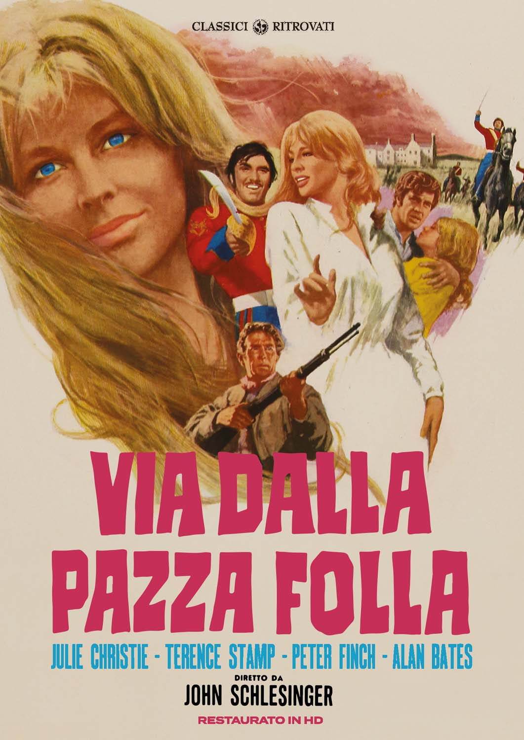 VIA DALLA PAZZA FOLLA (RESTAURATO IN HD) (DVD)