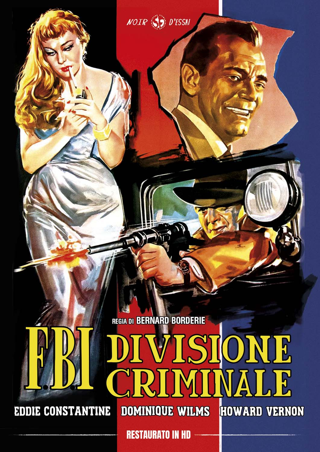 F.B.I. DIVISIONE CRIMINALE (RESTAURATO IN HD) (DVD)