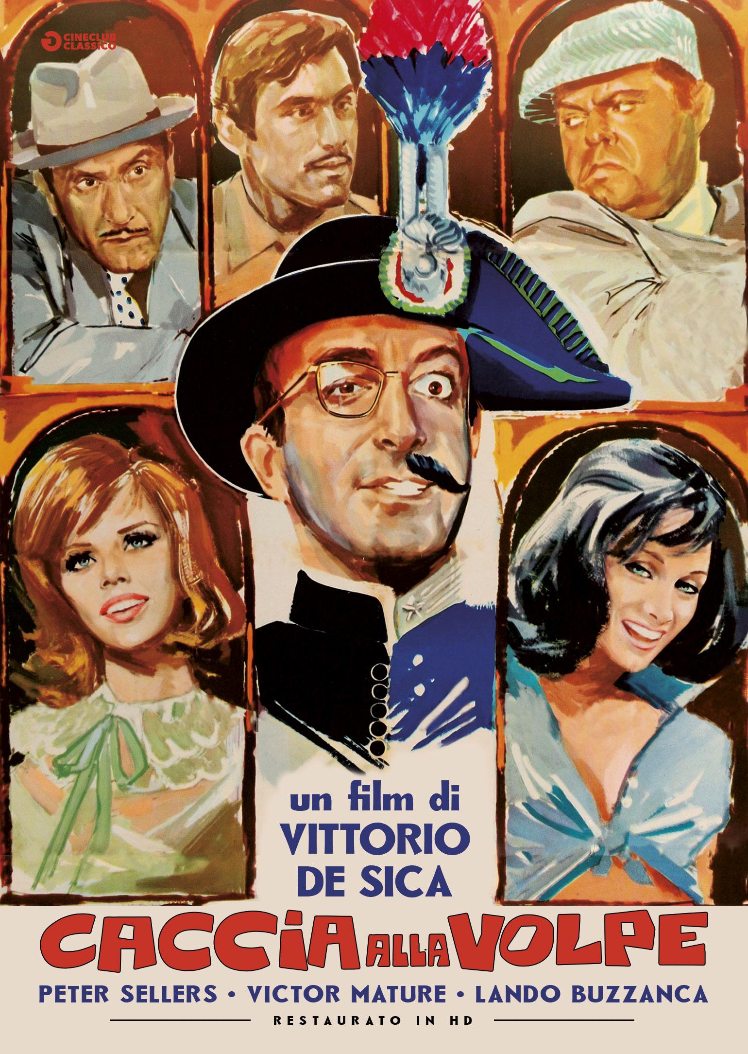 CACCIA ALLA VOLPE (RESTAURATO IN HD) (DVD)