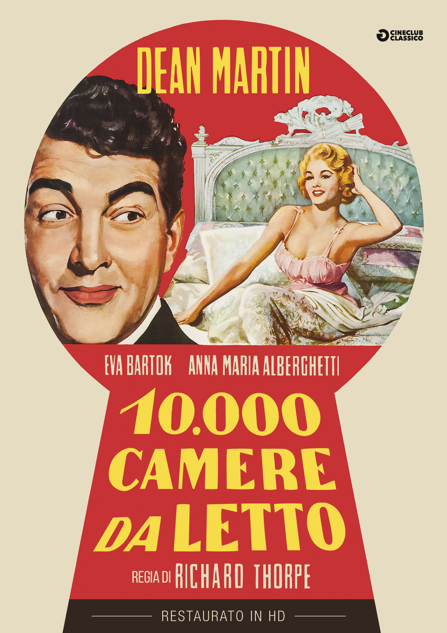 10.000 CAMERE DA LETTO (RESTAURATO IN HD) (DVD)