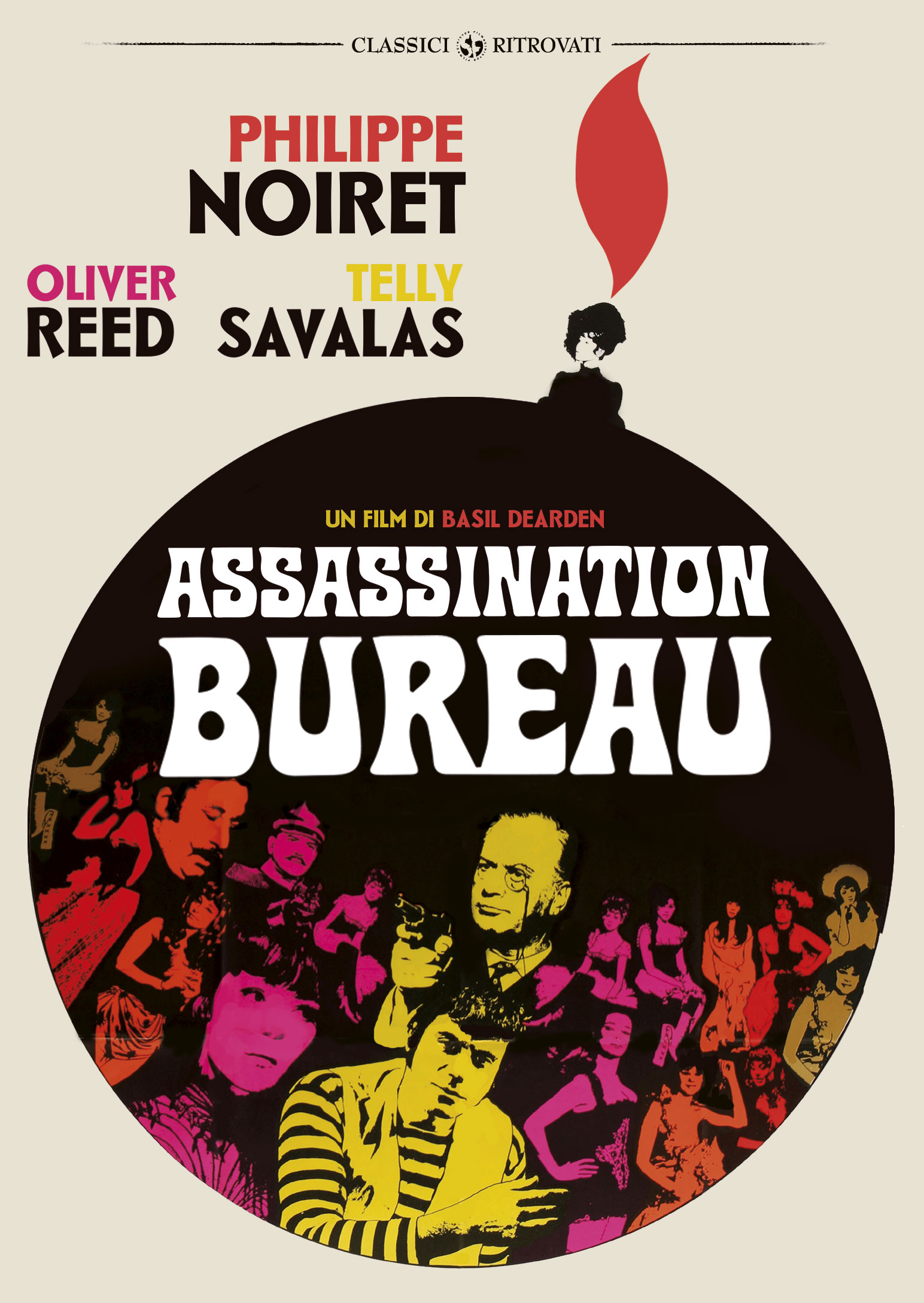 ASSASSINATION BUREAU (DVD)