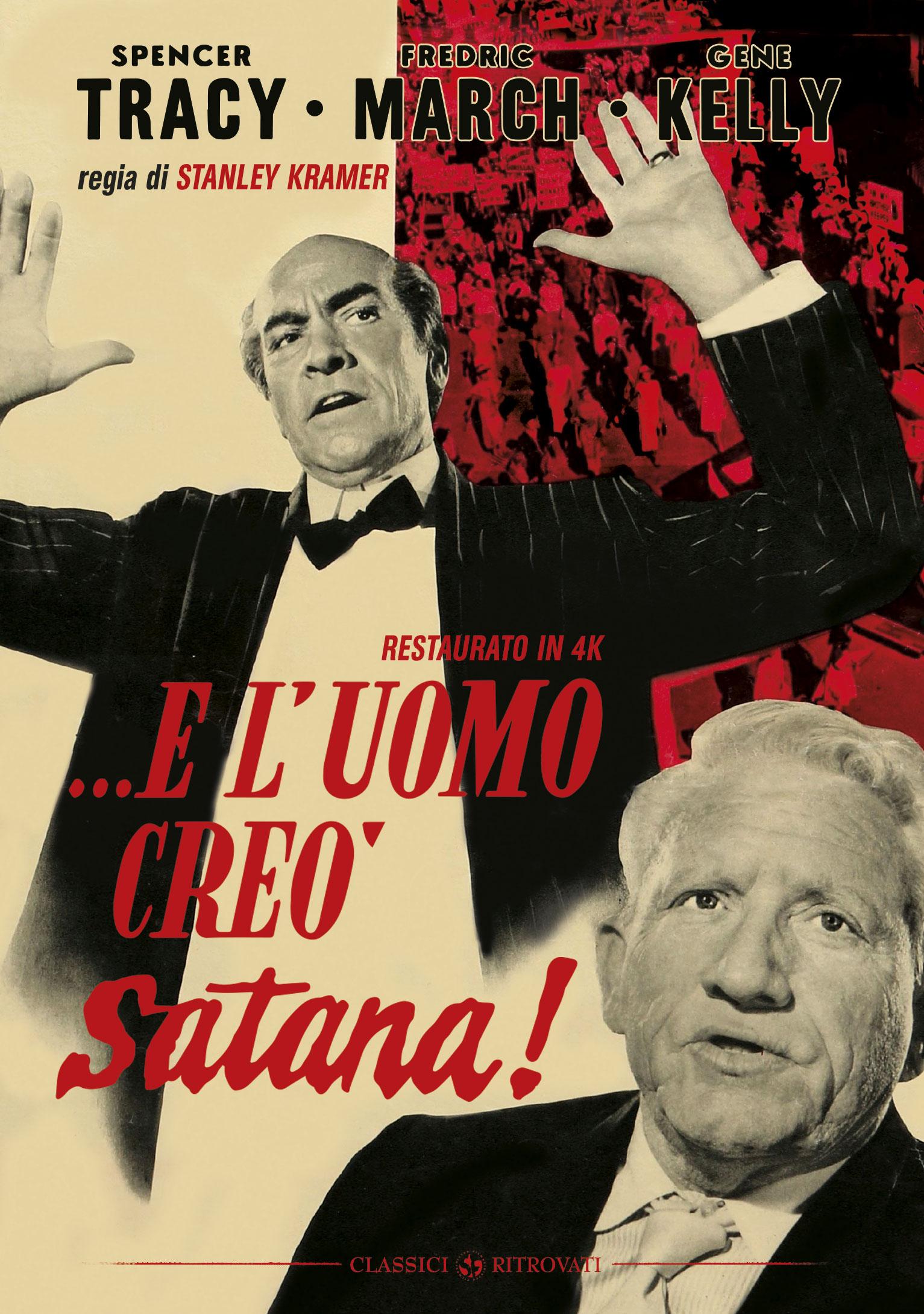 E L'UOMO CREO' SATANA! (RESTAURATO IN 4K) (DVD)