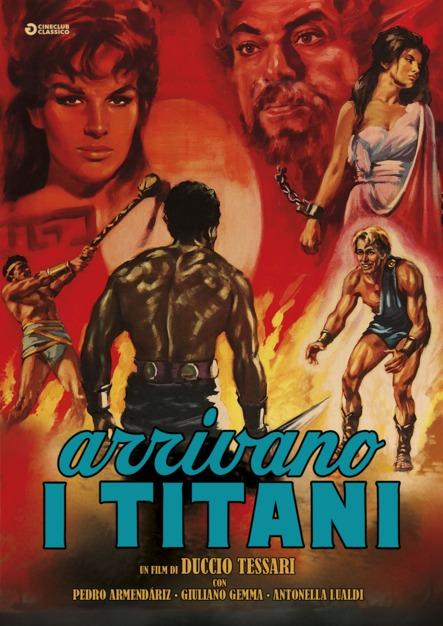 ARRIVANO I TITANI (DVD)