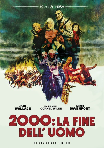 2000 LA FINE DELL'UOMO (RESTAURATO IN HD) (DVD)