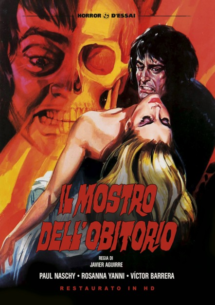 IL MOSTRO DELL'OBITORIO (RESTAURATO IN HD) (DVD)