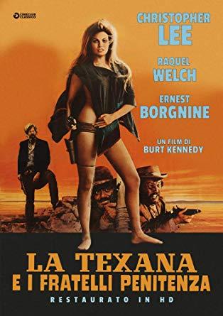 LA TEXANA E I FRATELLI PENITENZA (RESTAURATO IN HD) (DVD)