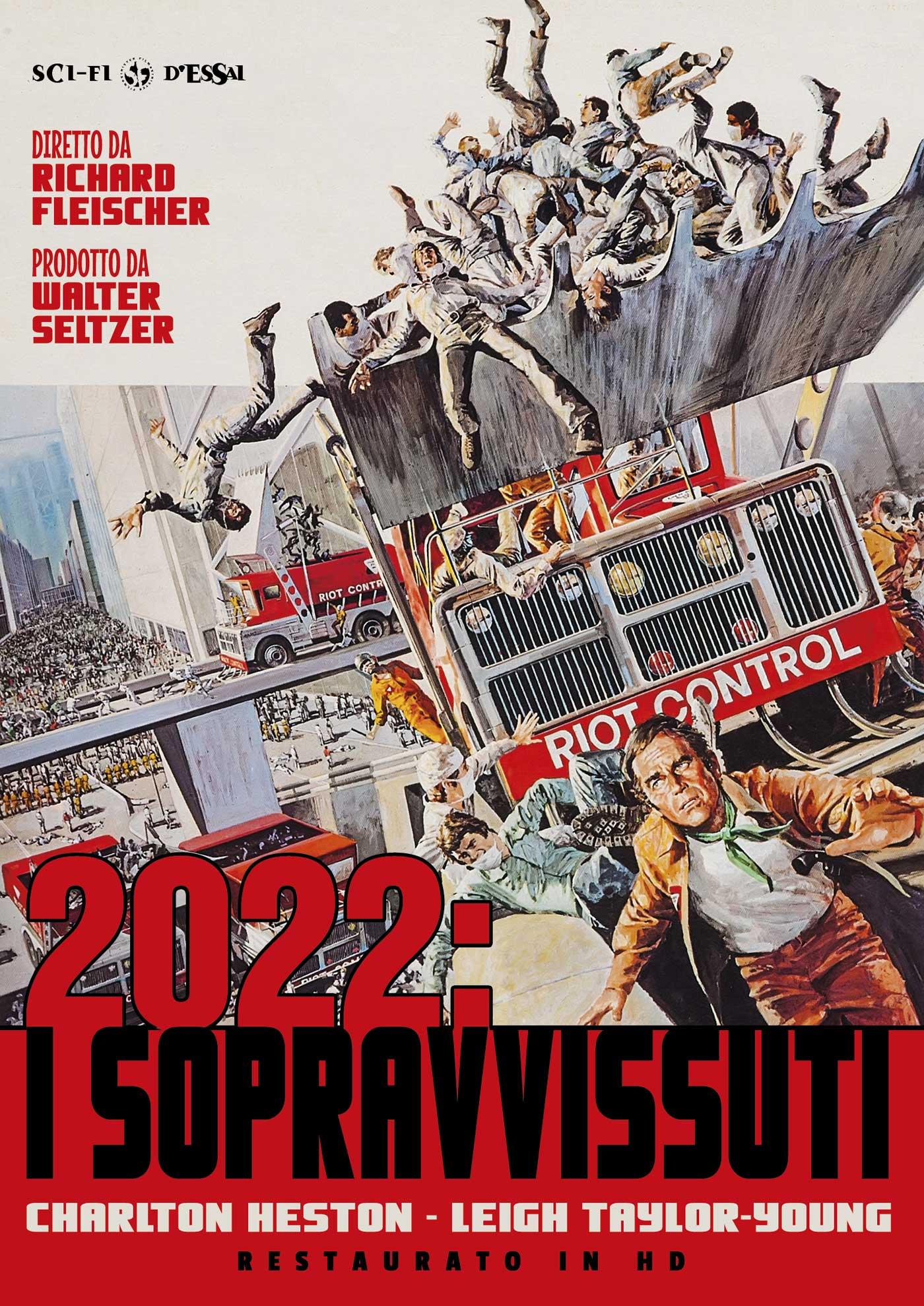 2022 - I SOPRAVVISSUTI (RESTAURATO IN HD) (DVD)