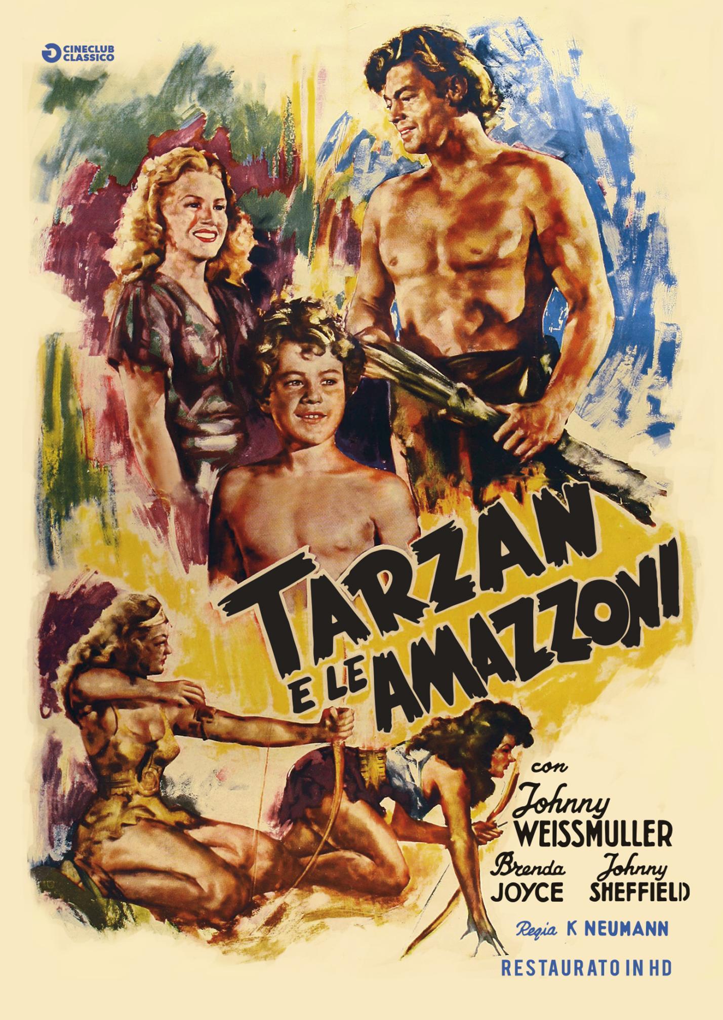 TARZAN E LE AMAZZONI (RESTAURATO IN HD) (DVD)