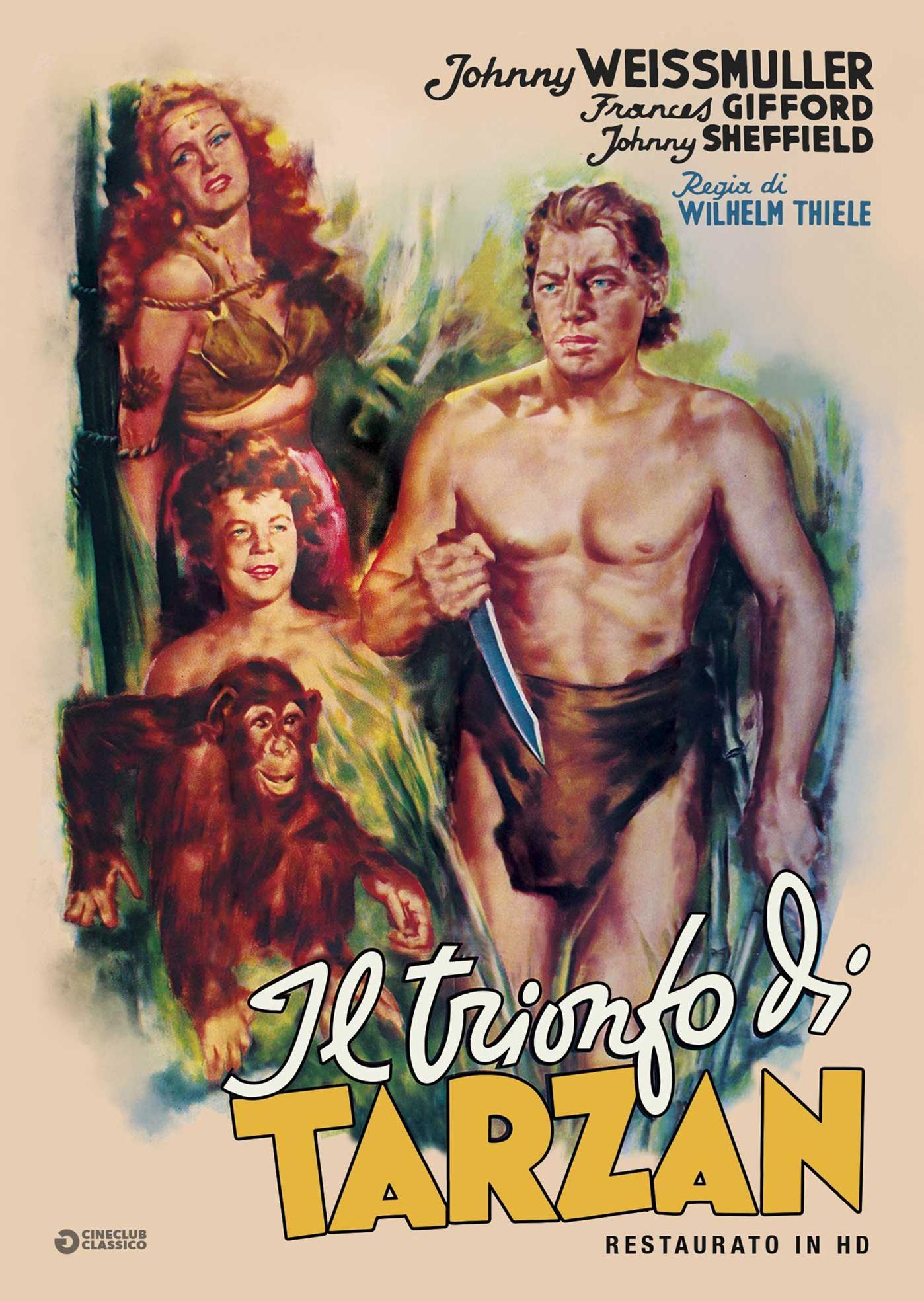 IL TRIONFO DI TARZAN (RESTAURATO IN HD) (DVD)