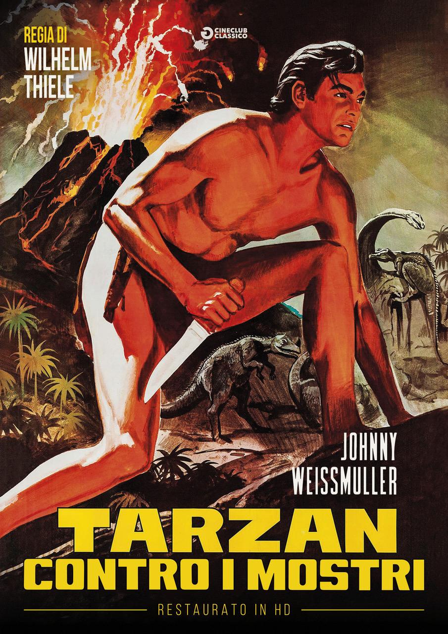 TARZAN CONTRO I MOSTRI (RESTAURATO IN HD) (DVD)