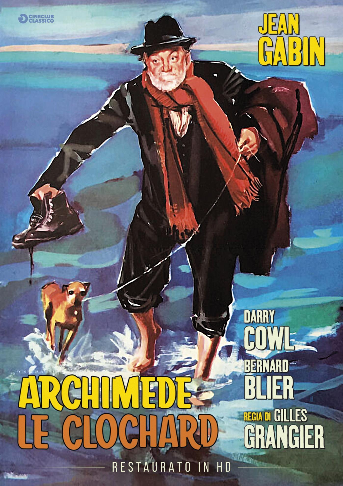 ARCHIMEDE LE CLOCHARD (RESTAURATO IN HD) (DVD)