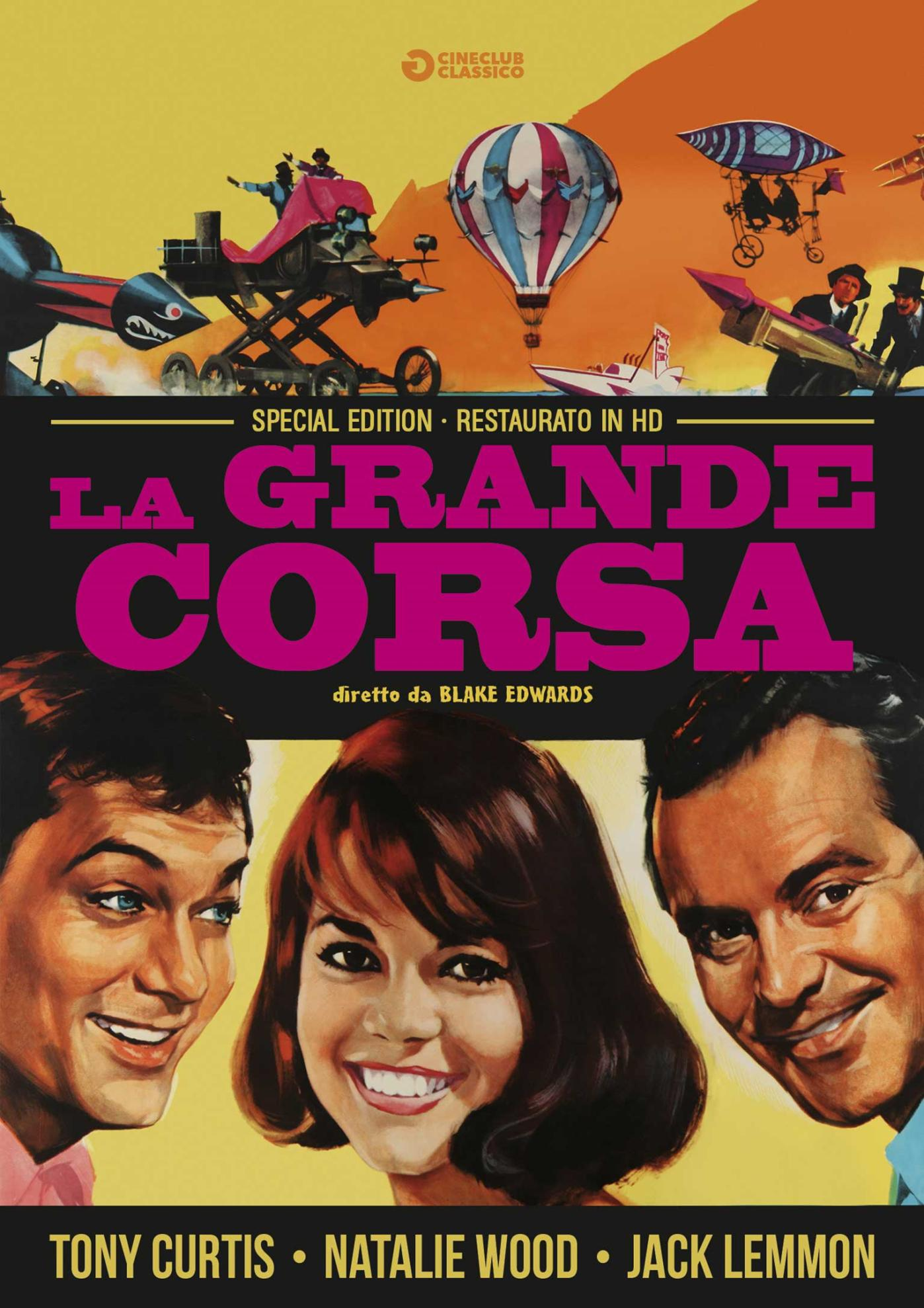 LA GRANDE CORSA (RESTAURATO IN HD) (DVD)