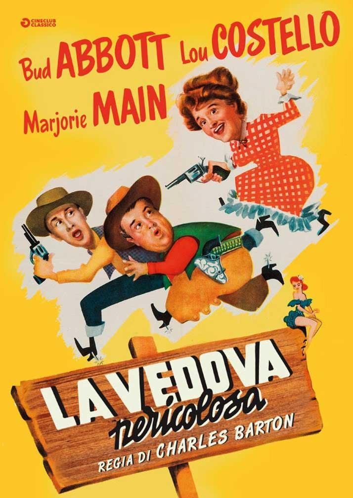 LA VEDOVA PERICOLOSA (DVD)