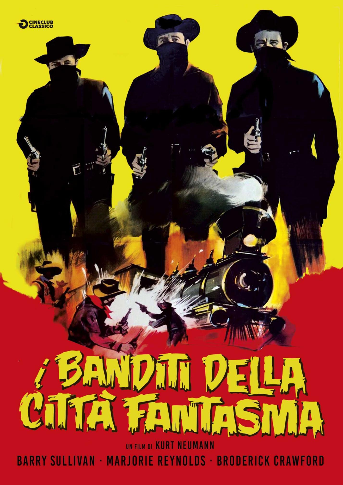 I BANDITI DELLA CITTA' FANTASMA (DVD)