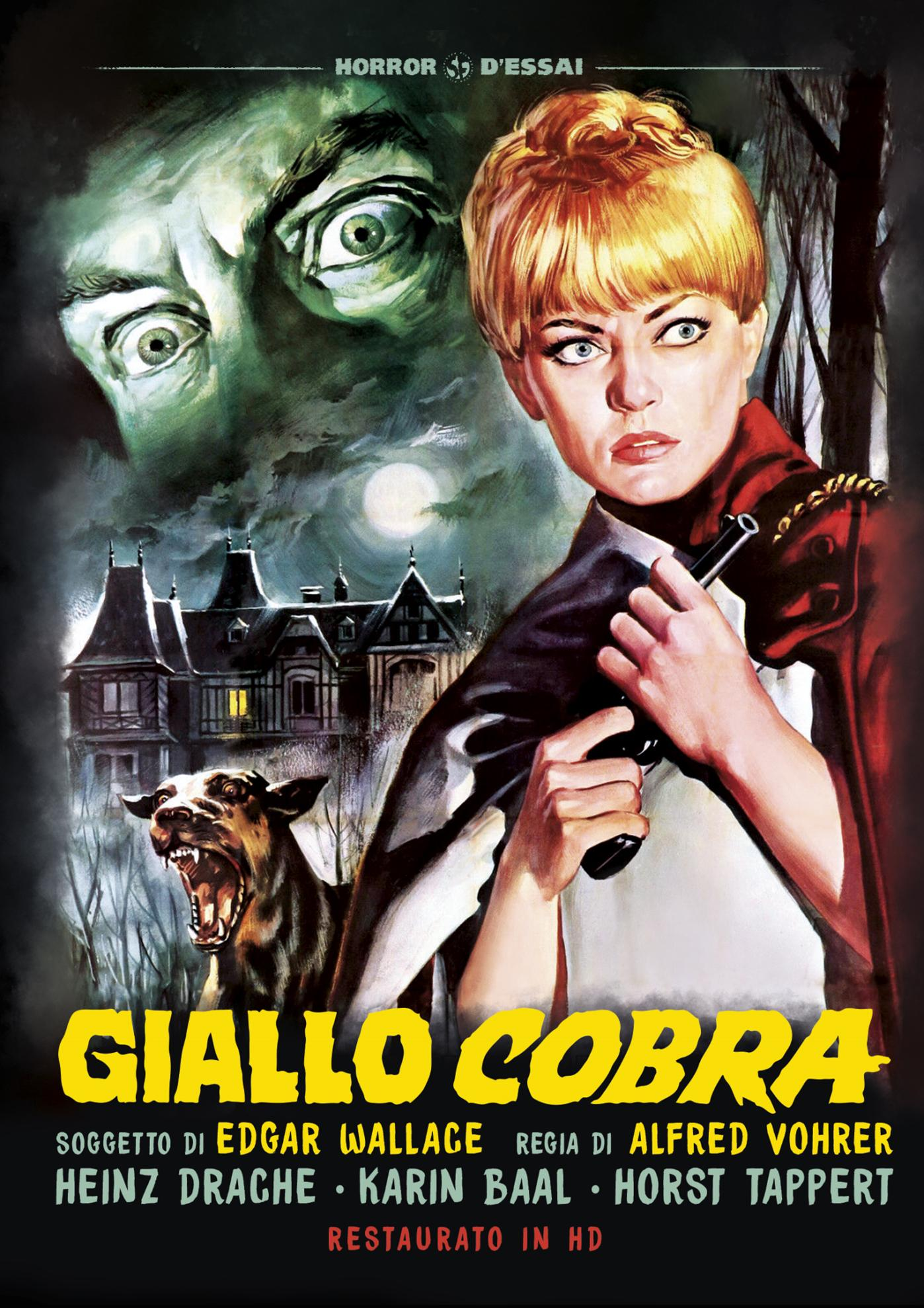 GIALLO COBRA (RESTAURATO IN HD) (DVD)