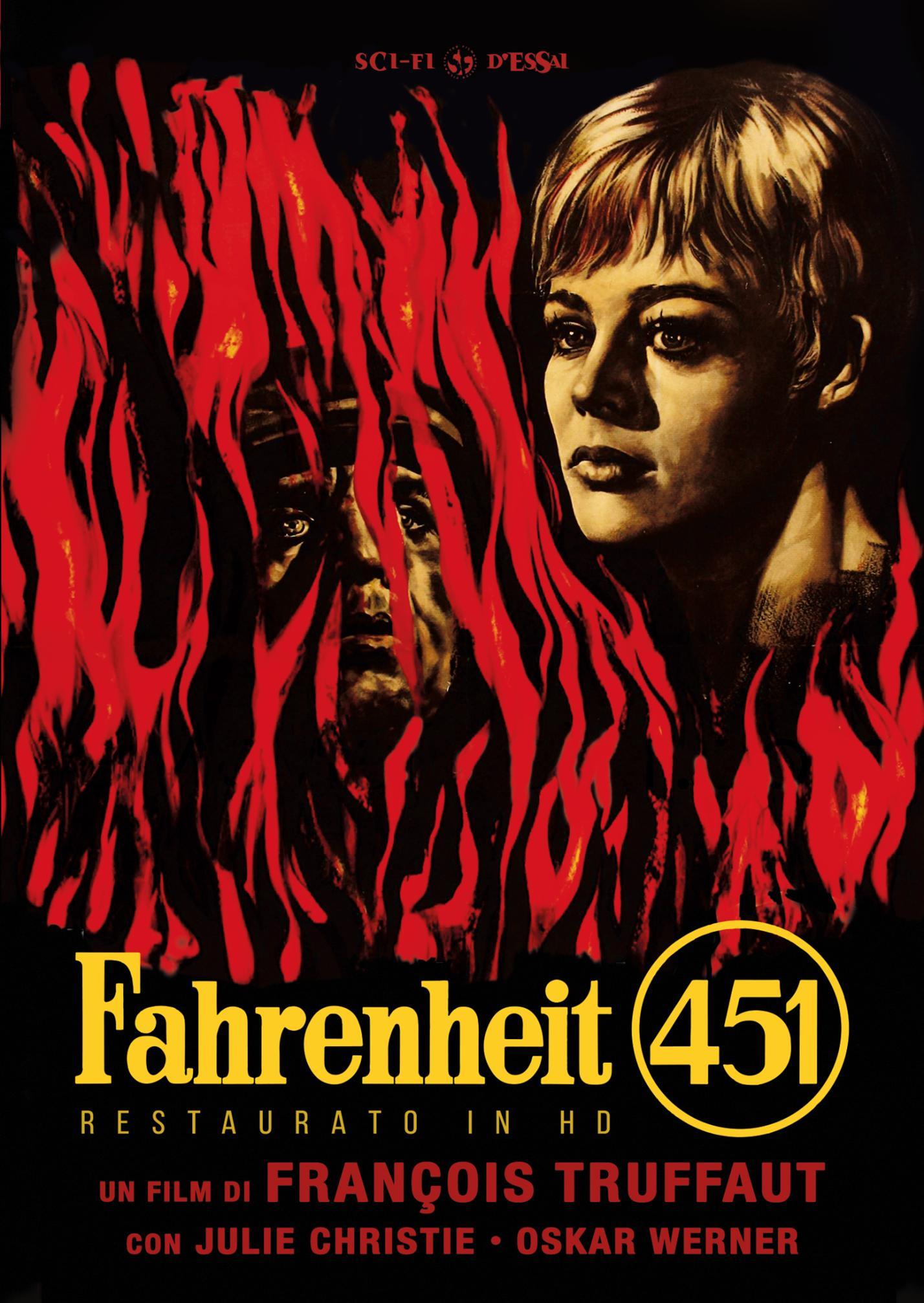 FAHRENHEIT 451 (RESTAURATO IN HD) (DVD)