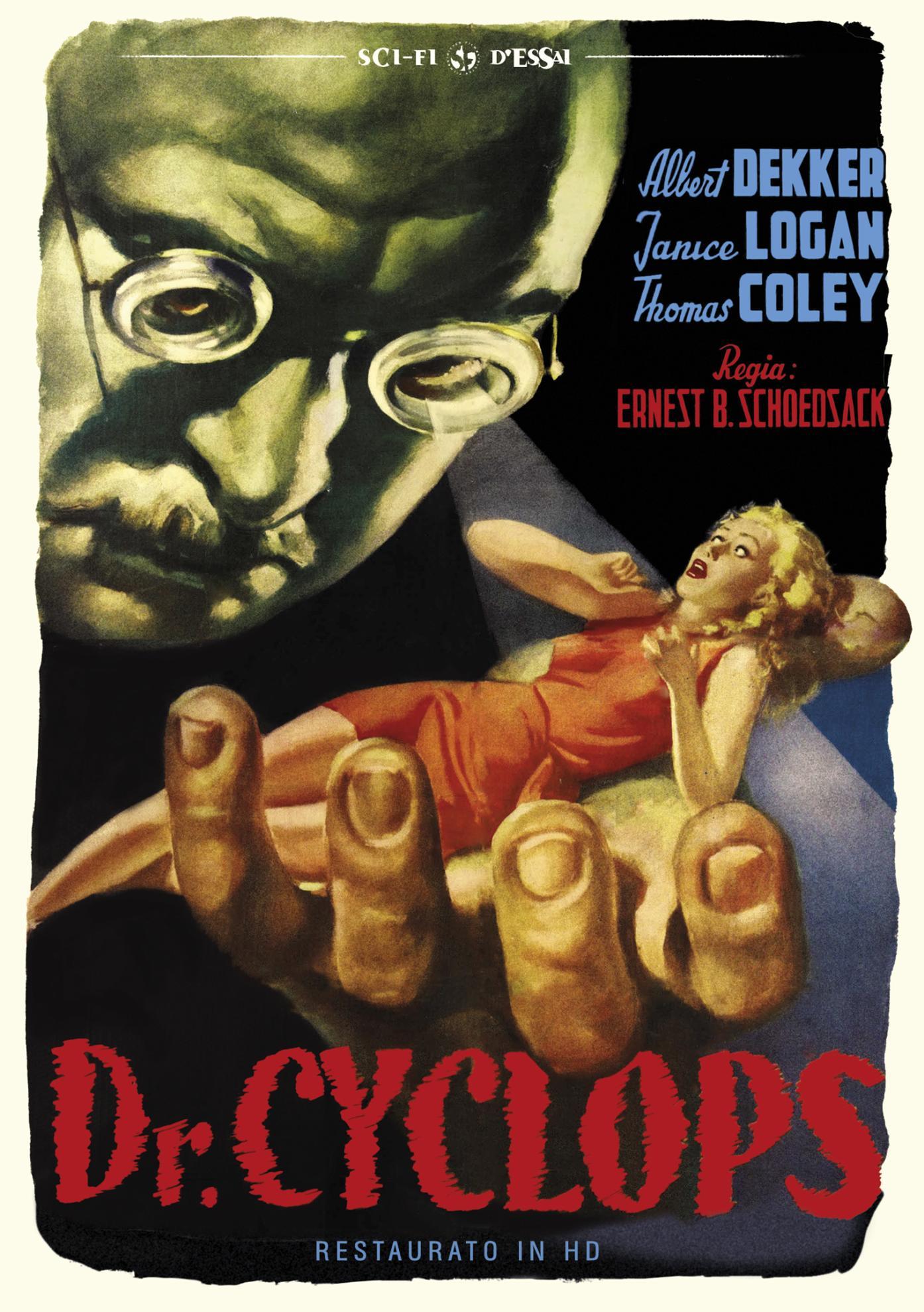 IL DOTTOR CYCLOPS (RESTAURATO IN HD) (DVD)
