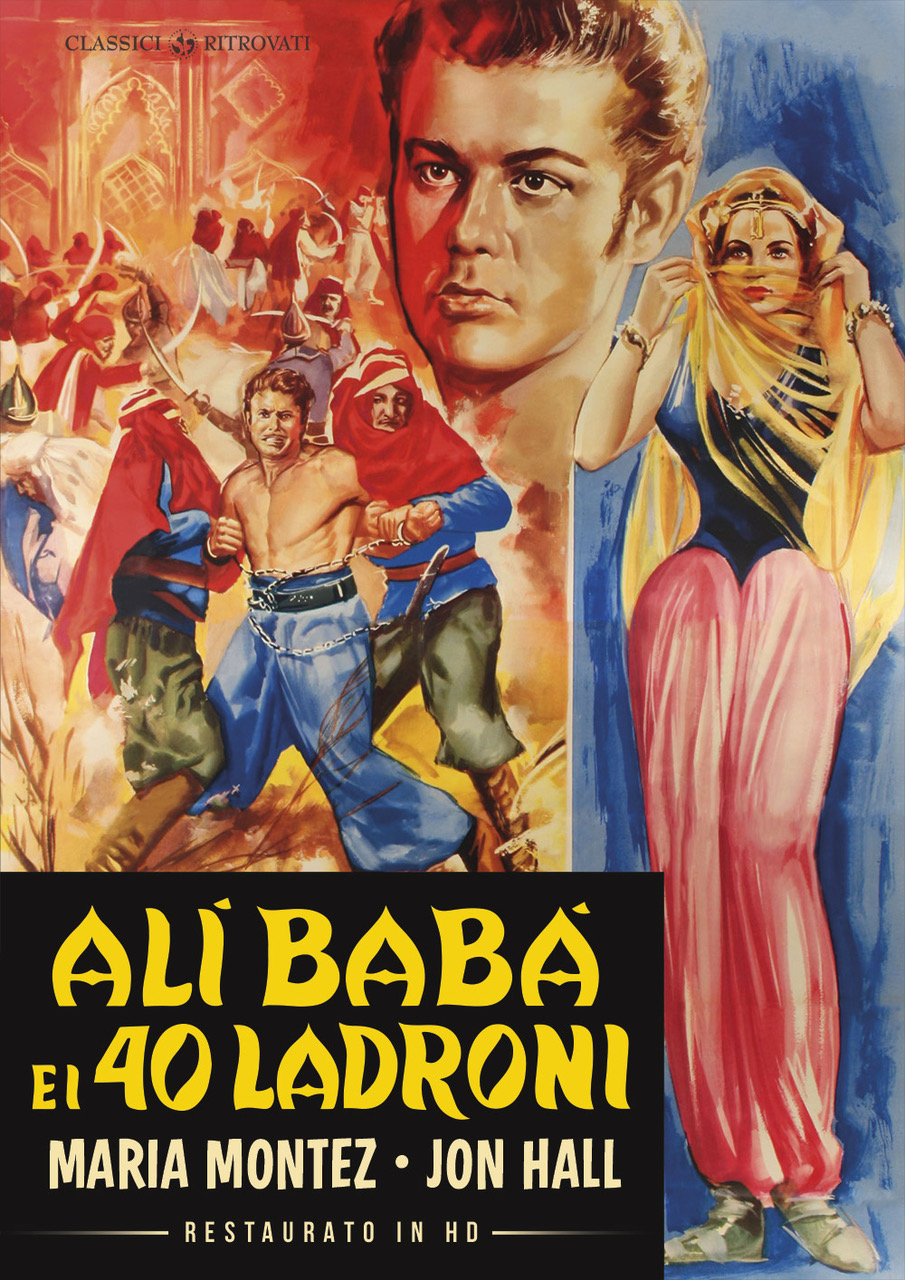 ALI BABA E I 40 LADRONI (RESTAURATO IN HD) (DVD)