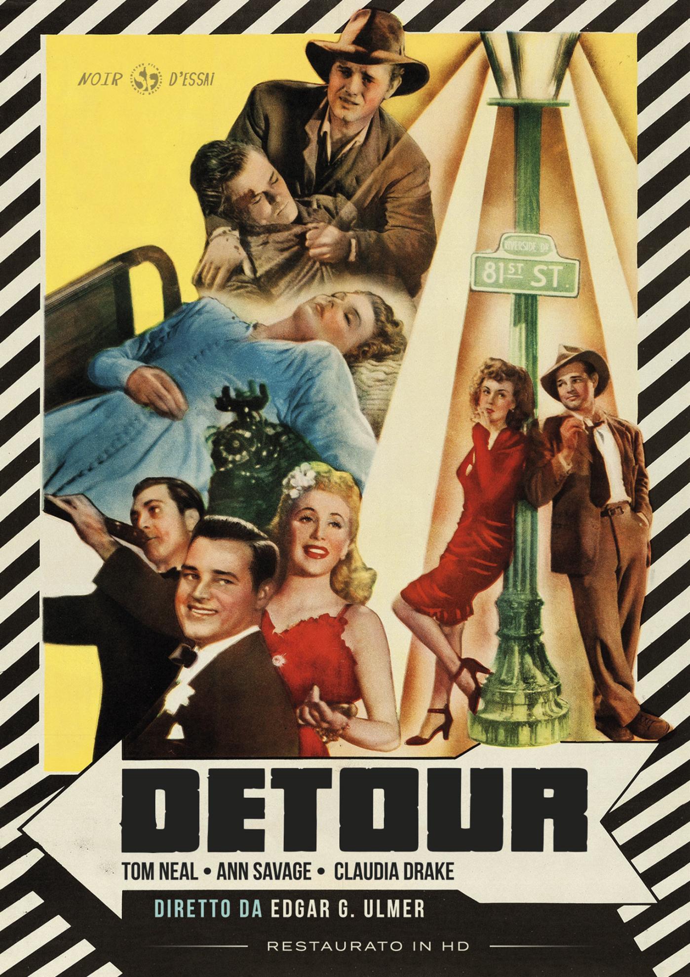 DETOUR (NUOVA EDIZIONE RESTAURATA IN HD) (DVD)