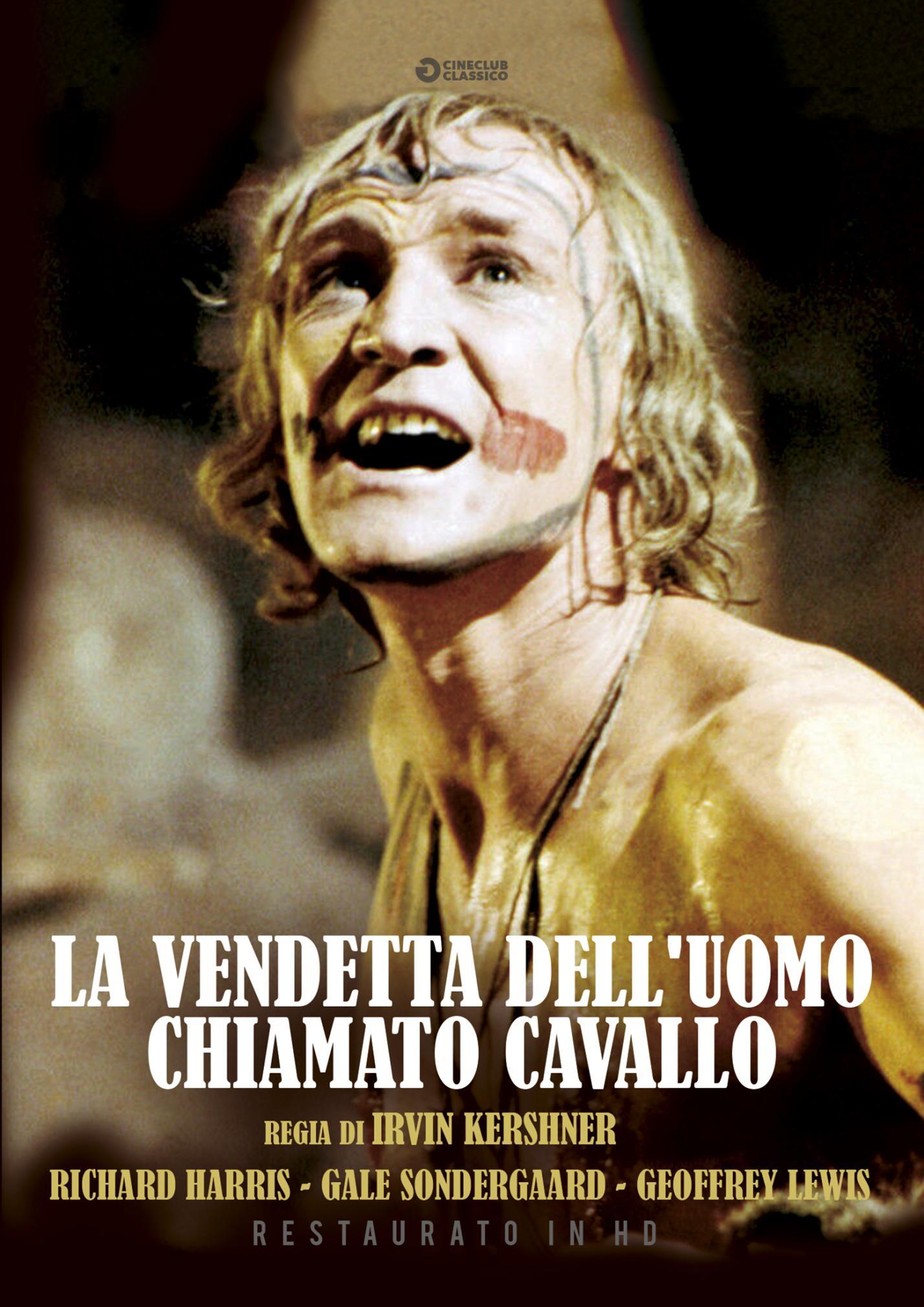 LA VENDETTA DELL'UOMO CHIAMATO CAVALLO (RESTAURATO IN HD) (DVD)