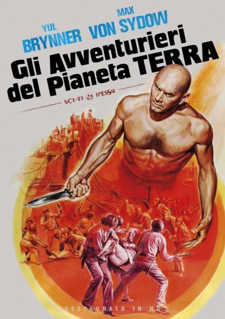 GLI AVVENTURIERI DEL PIANETA TERRA (RESTAURATO IN HD) (DVD)