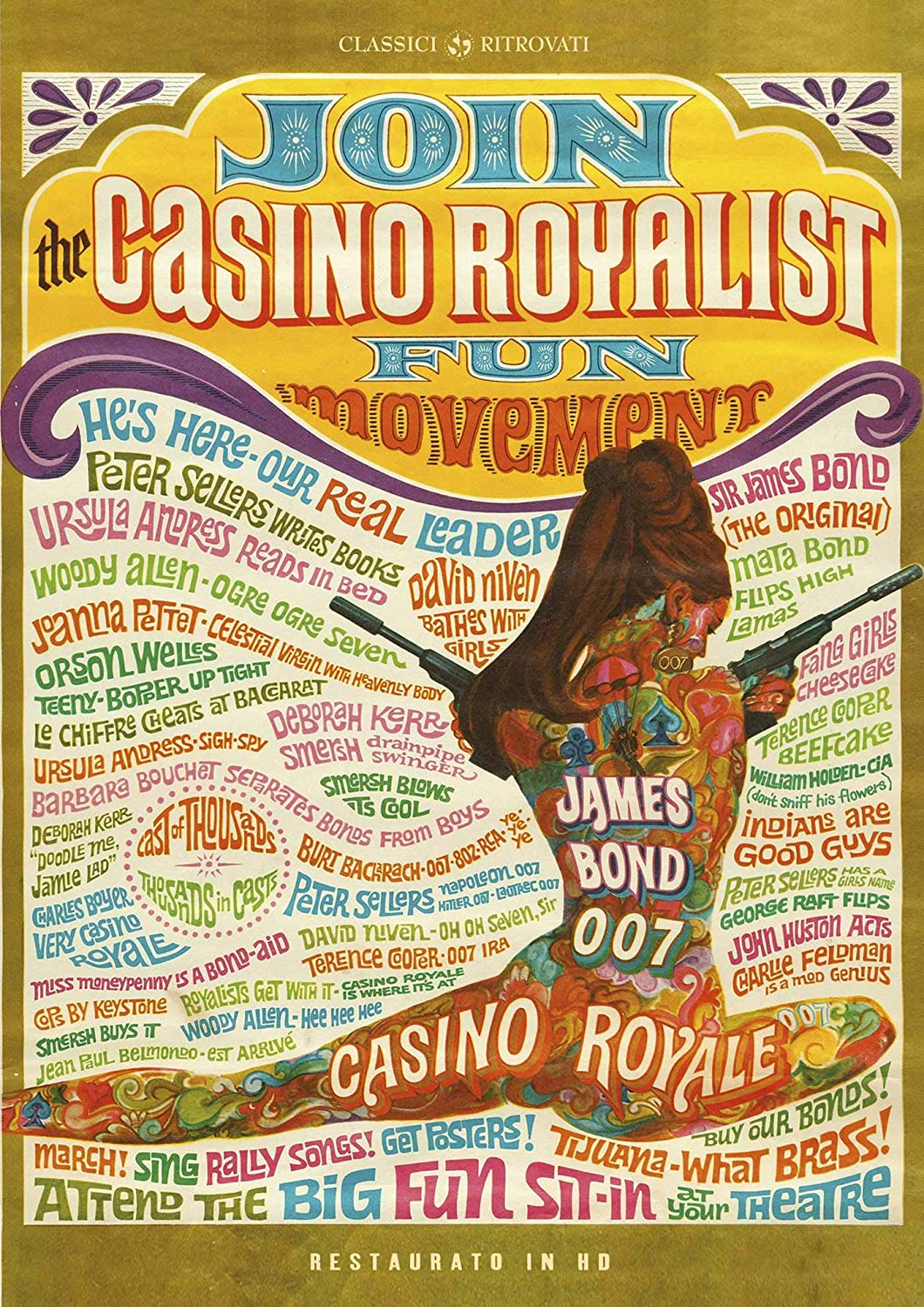 CASINO ROYALE (RESTAURATO IN HD) (DVD)