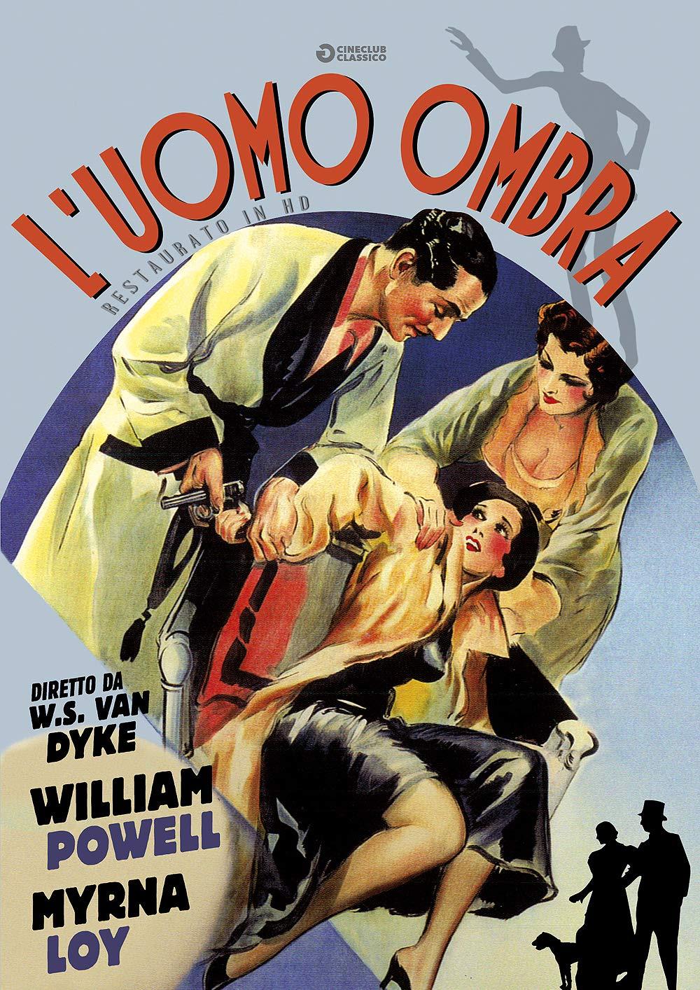 L'UOMO OMBRA (RESTAURATO IN HD) (DVD)