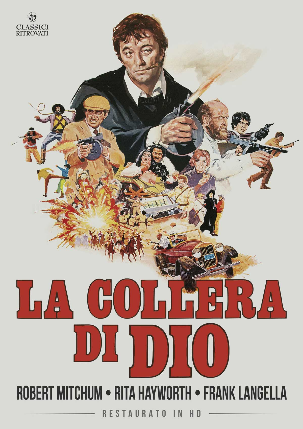 LA COLLERA DI DIO (RESTAURATO IN HD) (DVD)