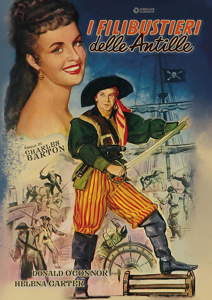 I FILIBUSTIERI DELLE ANTILLE (DVD)