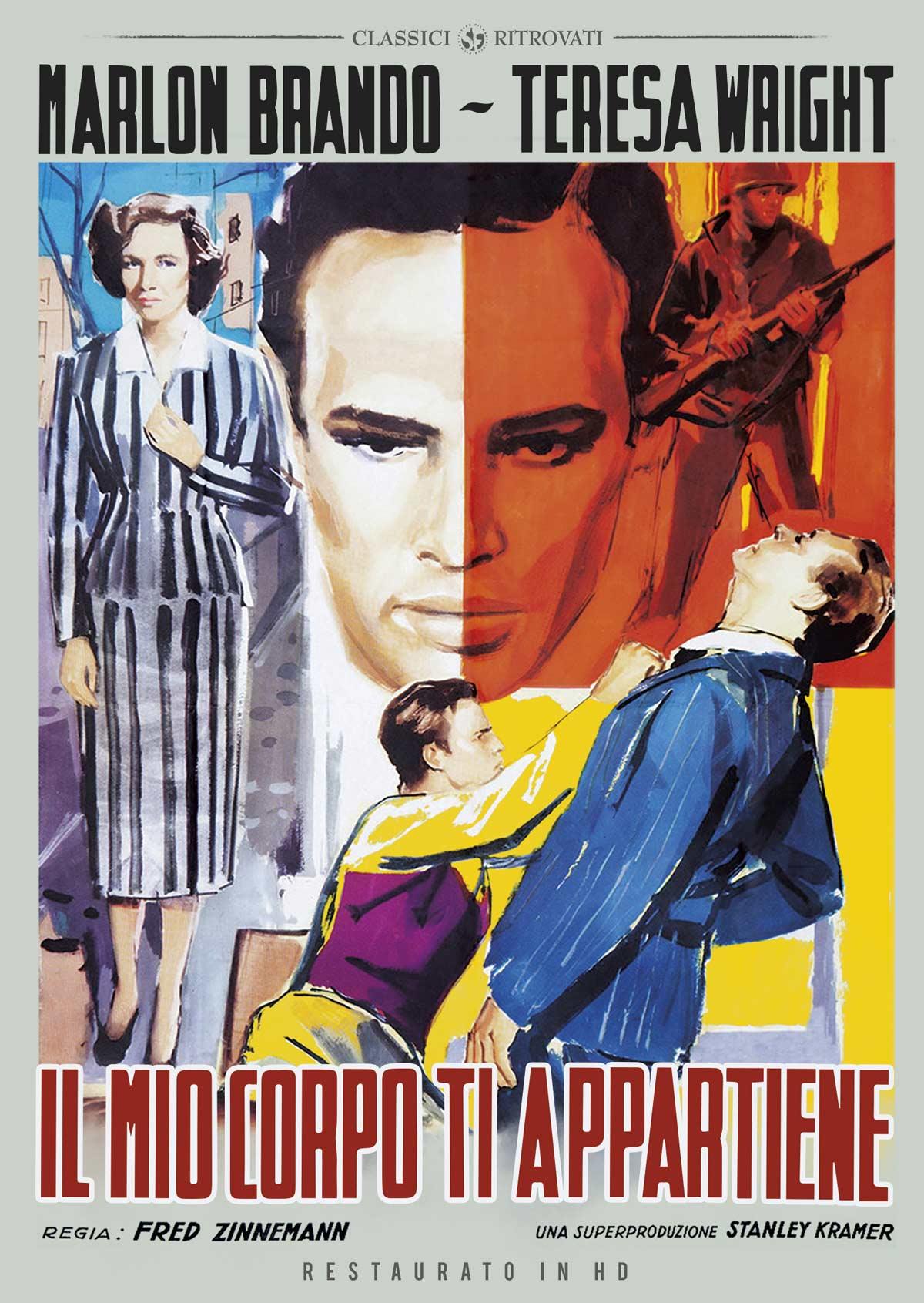 IL MIO CORPO TI APPARTIENE (RESTAURATO IN HD) (DVD)