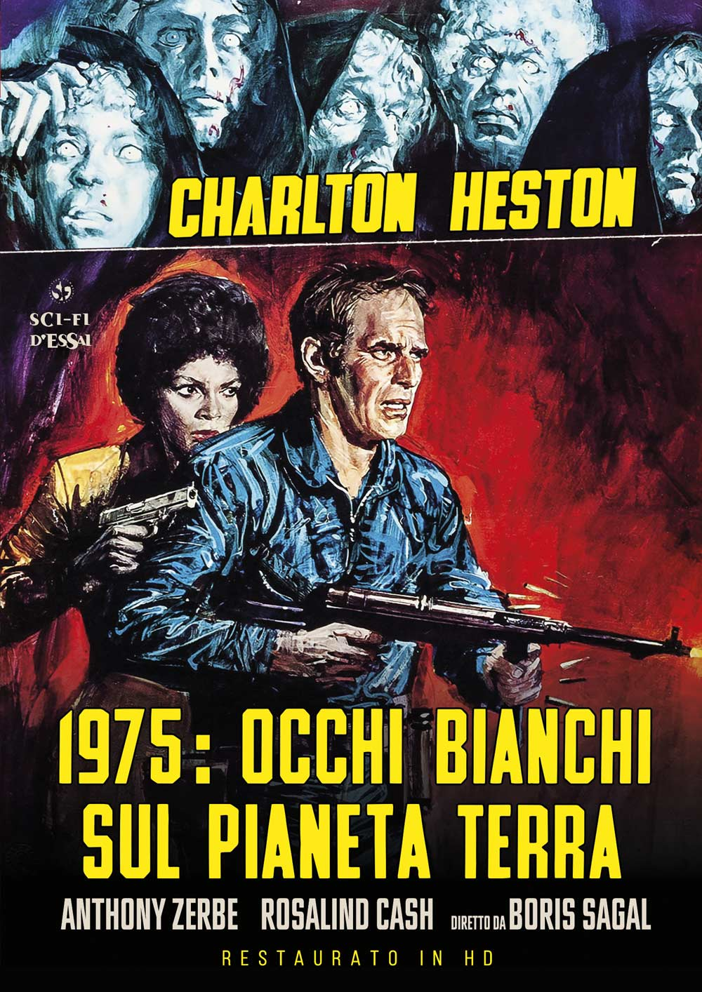 1975 OCCHI BIANCHI SUL PIANETA TERRA (RESTAURATO IN HD) (DVD)