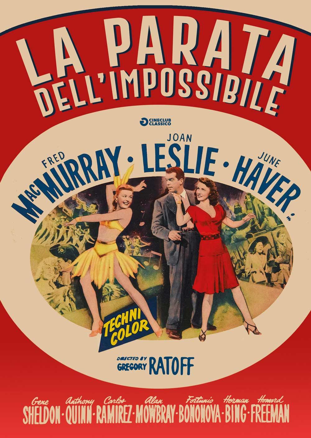 LA PARATA DELL'IMPOSSIBILE (DVD)