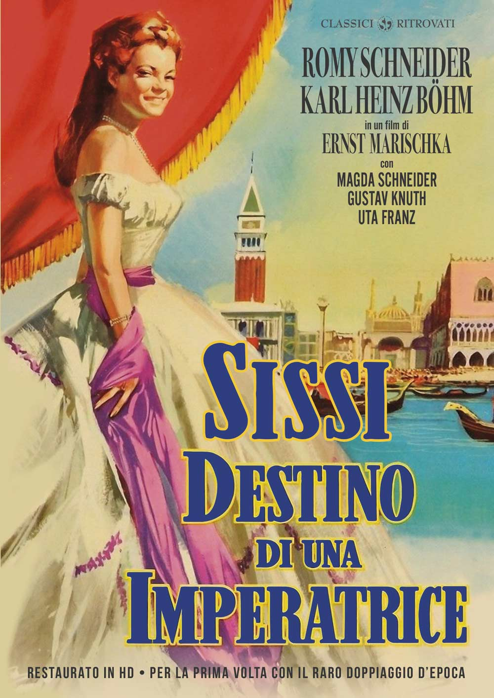 SISSI - DESTINO DI UN'IMPERATRICE (RESTAURATO IN HD) (DVD)