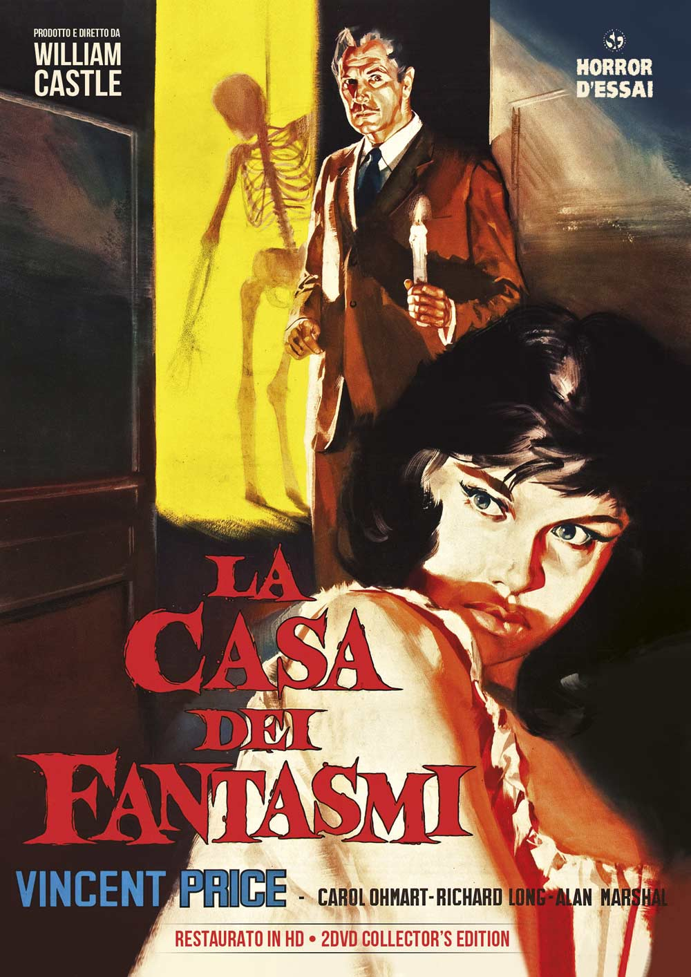 LA CASA DEI FANTASMI (RESTAURATO IN HD) (COLLECTOR'S EDITION 2 D