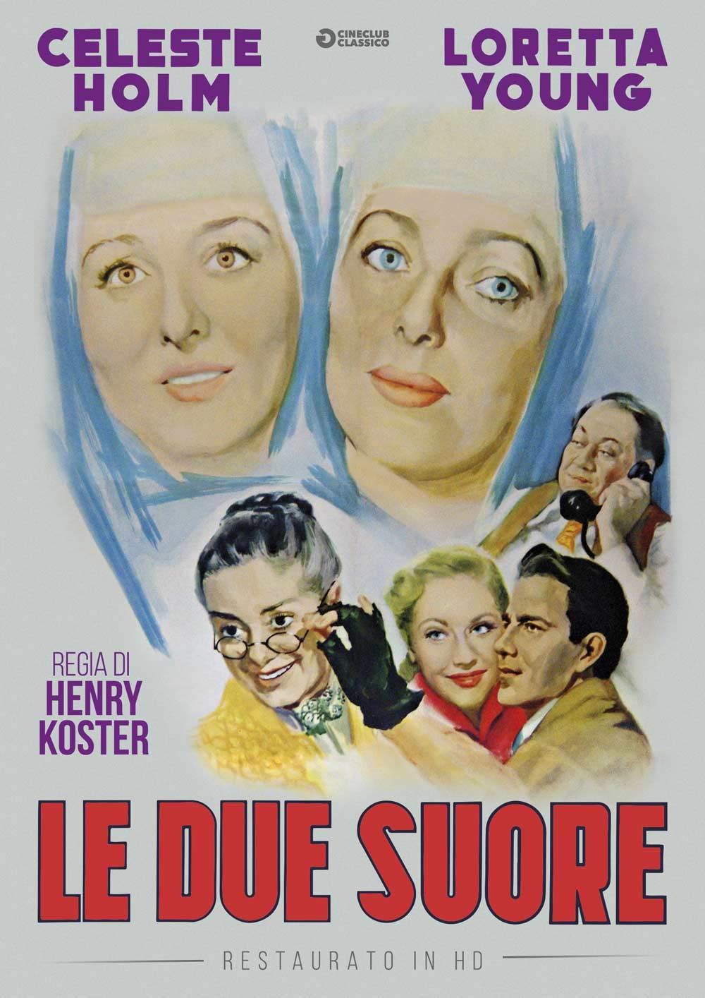 LE DUE SUORE (RESTAURATO IN HD) (DVD)