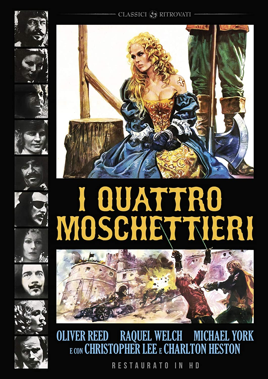 I QUATTRO MOSCHETTIERI (RESTAURATO IN HD) (DVD)