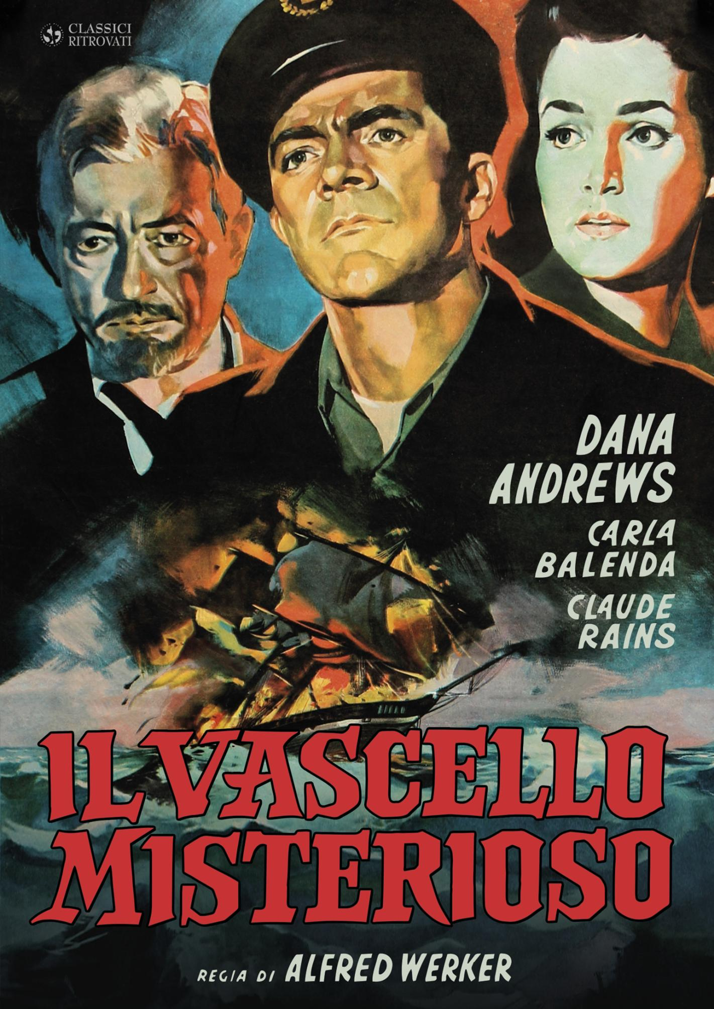 IL VASCELLO MISTERIOSO (DVD)
