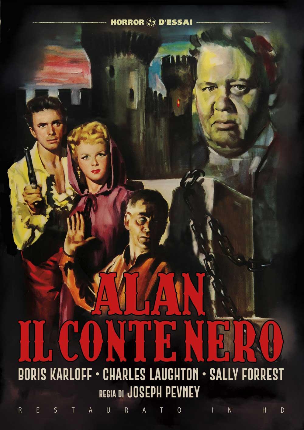 ALAN IL CONTE NERO (RESTAURATO IN HD) (DVD)