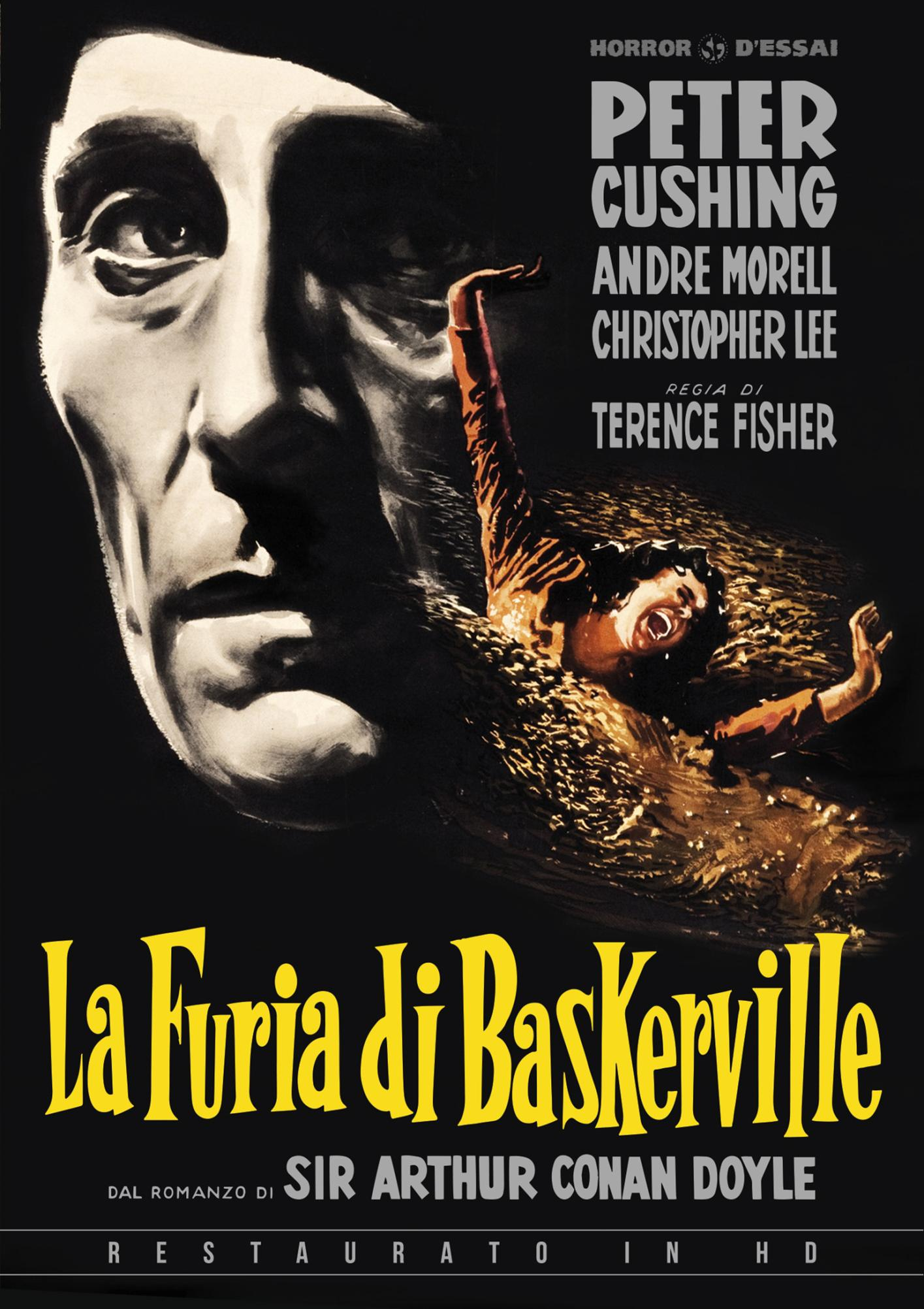 LA FURIA DEI BASKERVILLE (RESTAURATO IN HD) (DVD)
