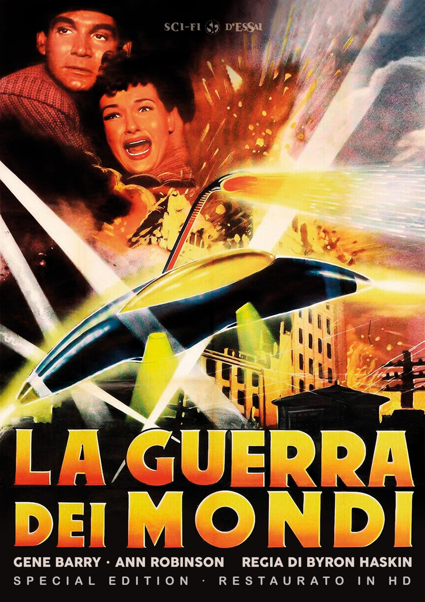 LA GUERRA DEI MONDI - SPECIAL EDITION (RESTAURATO IN HD) (DVD+P