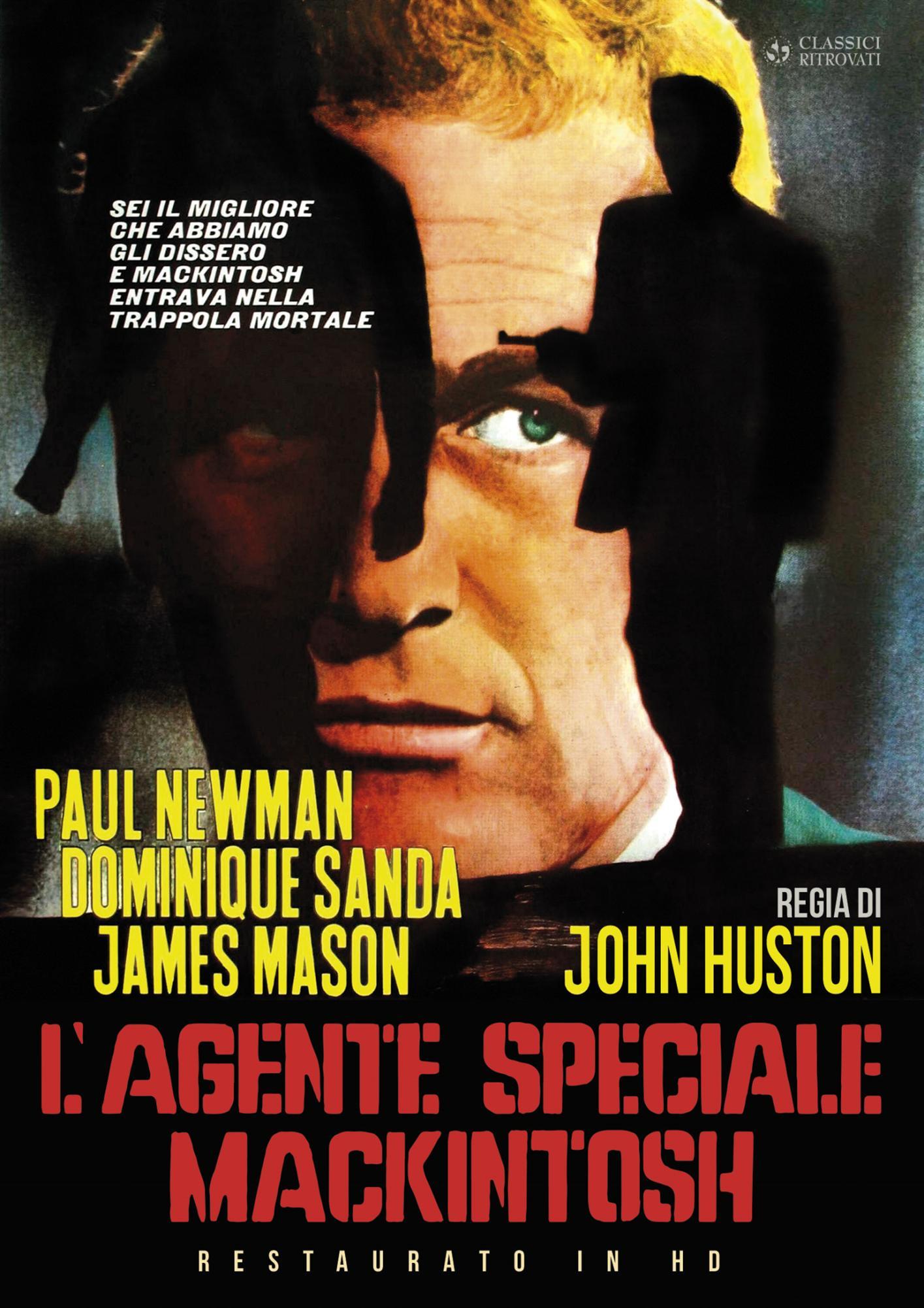 L'AGENTE SPECIALE MACKINTOSH (RESTAURATO IN HD) (DVD)