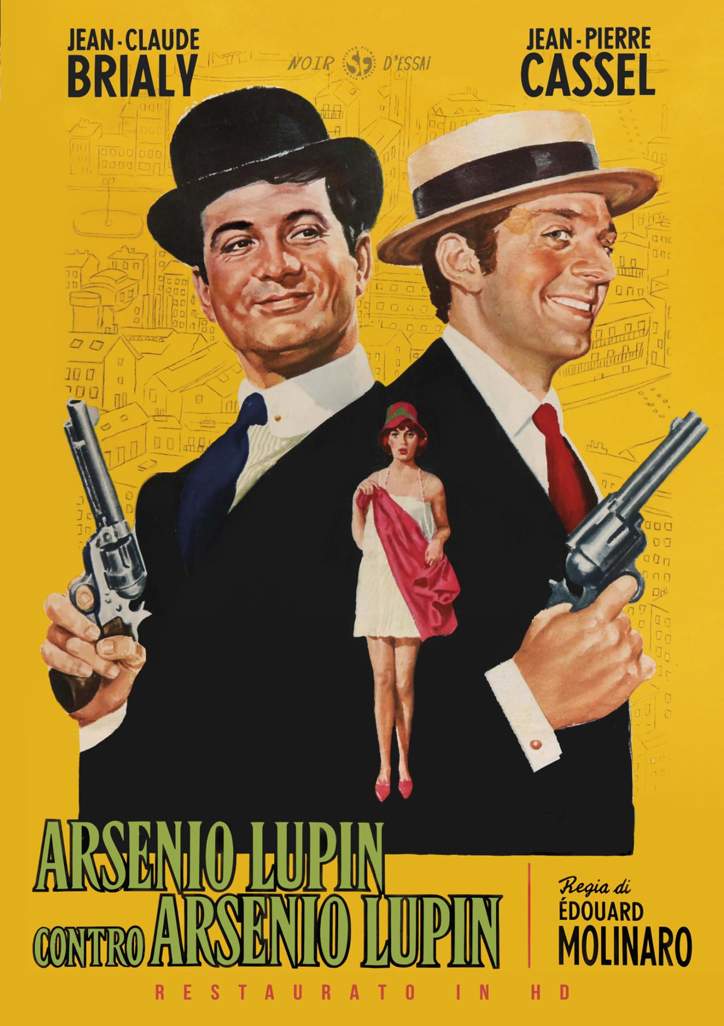 ARSENIO LUPIN CONTRO ARSENIO LUPIN (RESTAURATO IN HD) (DVD)