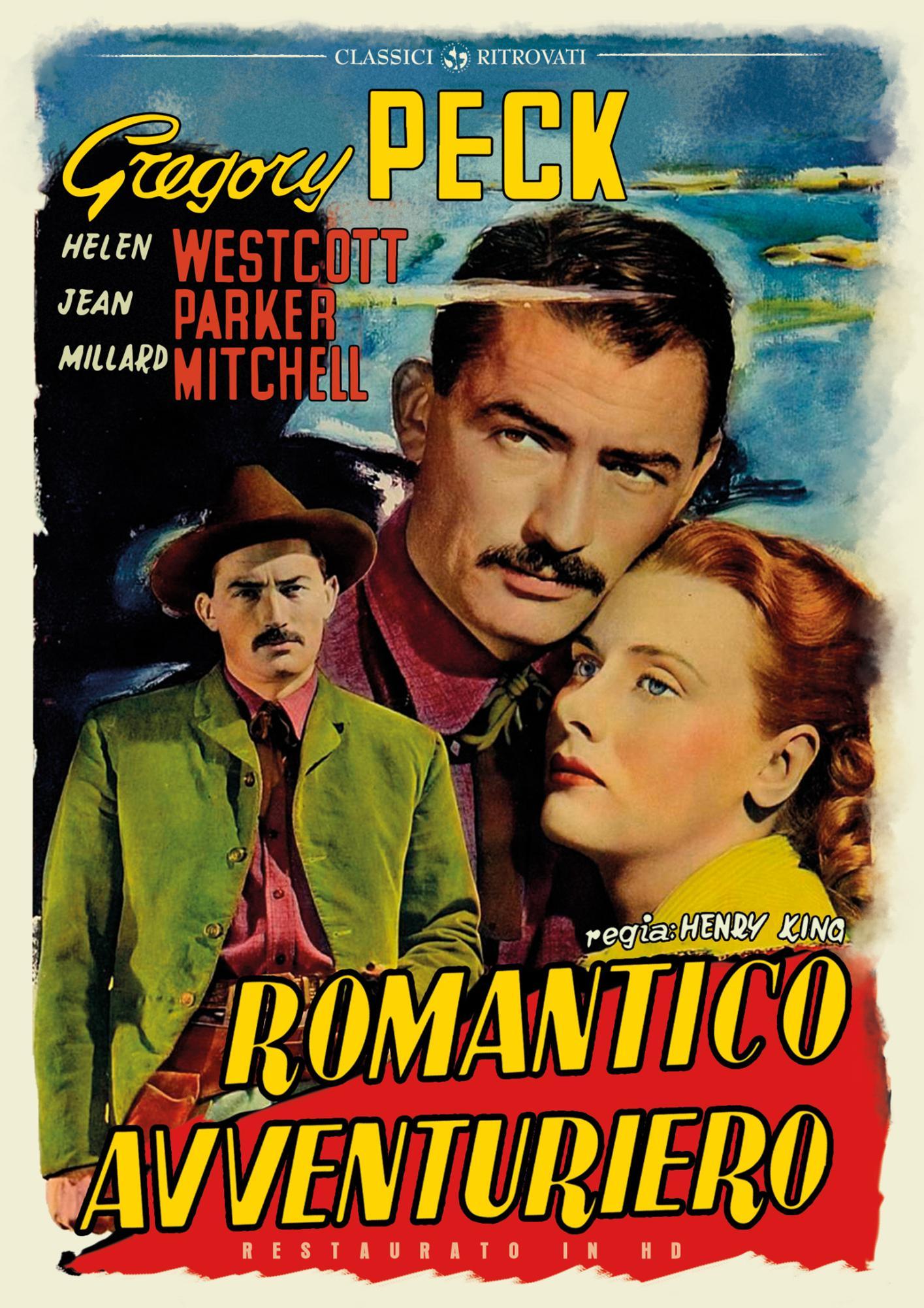 ROMANTICO AVVENTURIERO (RESTAURATO IN HD) (DVD)