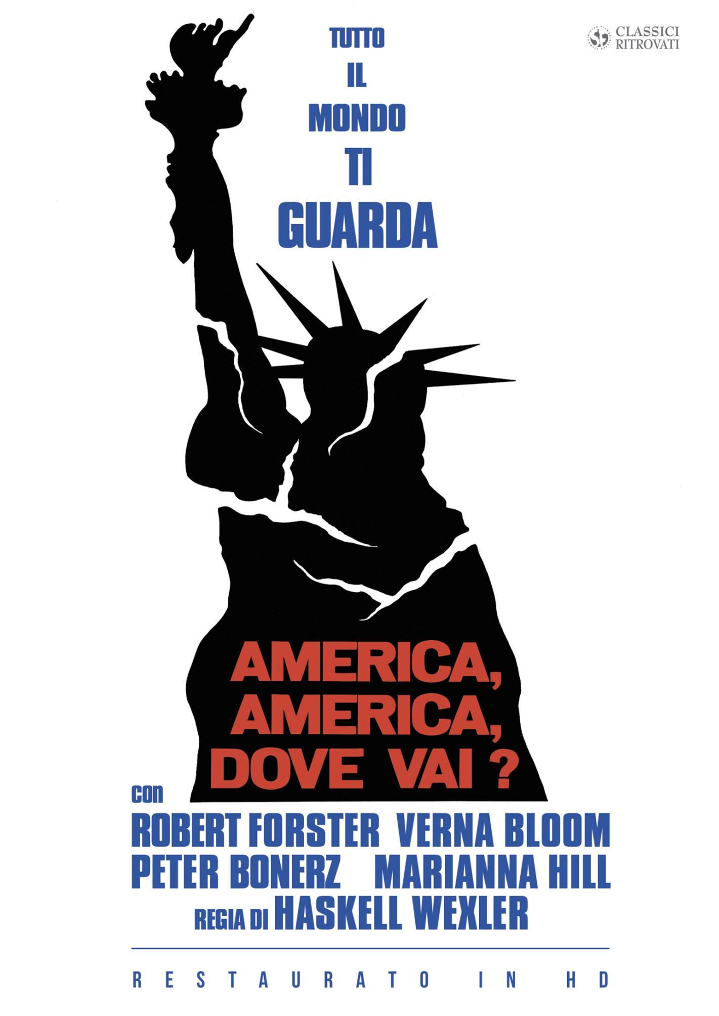 AMERICA AMERICA DOVE VAI? (RESTAURATO IN HD) (DVD)