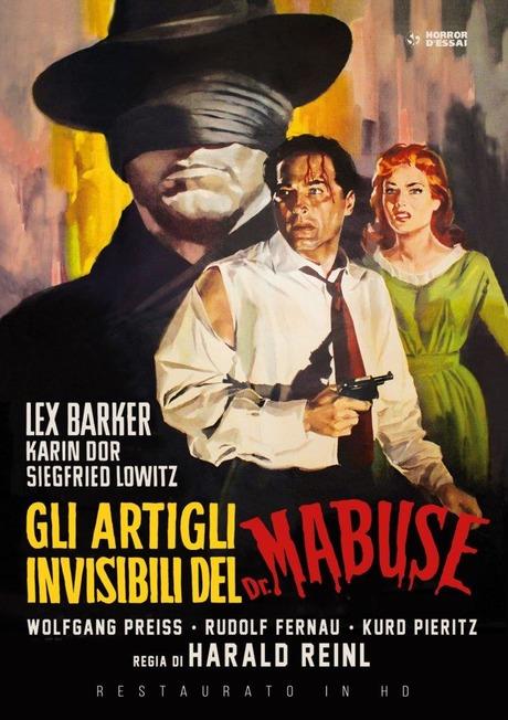 GLI ARTIGLI INVISIBILI DEL DR. MABUSE (RESTAURATO IN HD) (DVD)