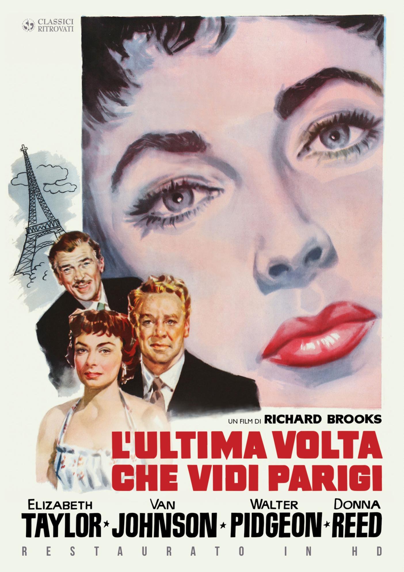 L'ULTIMA VOLTA CHE VIDI PARIGI (RESTAURATO IN HD) (DVD)