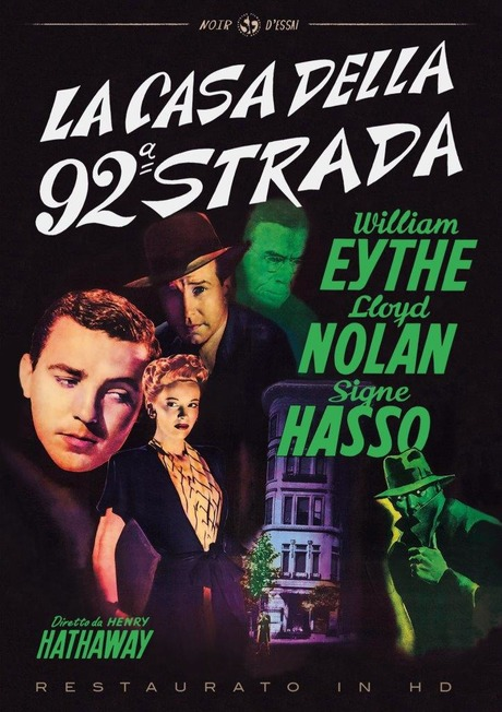 LA CASA DELLA 92A STRADA (RESTAURATO IN HD) (DVD)