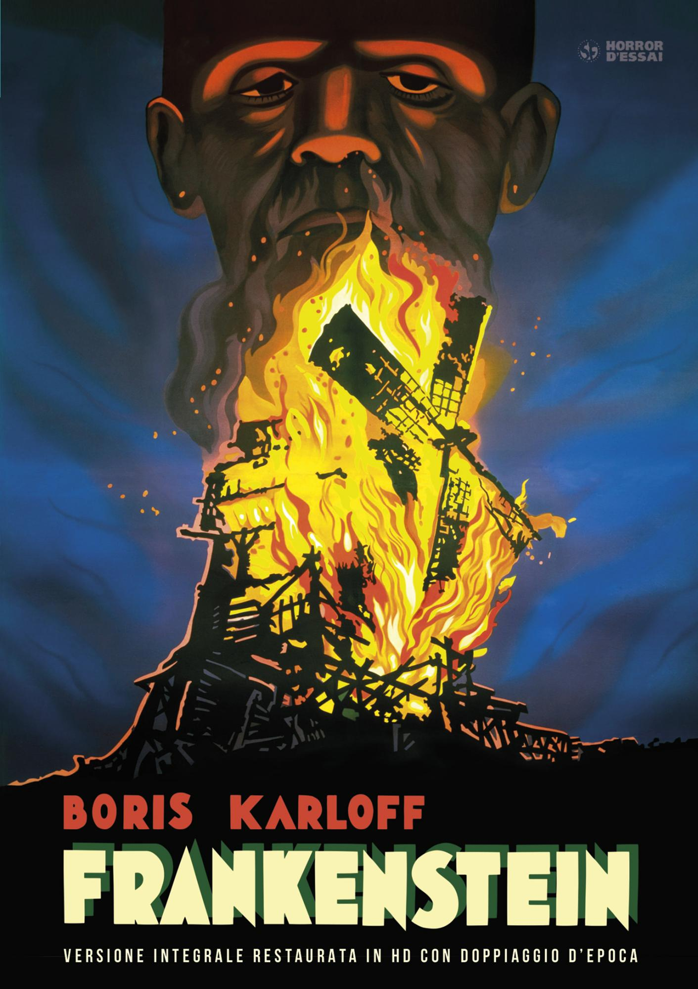 FRANKENSTEIN (RESTAURATO IN HD) (DVD+POSTER) (DVD)